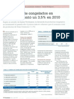 Aumento Consumo Congelados en España