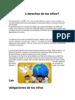 Qué son los derechos de los niños - Eduardo Atri Cojab