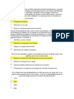 Riesgos examen PMP 5 Ed.