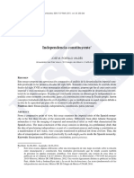 Portilo Valdes/ independencia constituyente