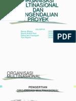 organisasi multinasional