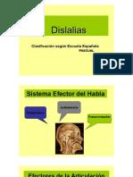1. DISLALIAS