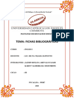 Inglés - Fichas Bibliográficas