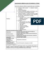 Apéndice E y F Req Médicos Contratistas PLNG