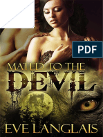 Mated to the Devil - Eve Langlais - Livro Único(Rev. SH)