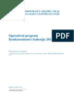 Operativni Program PKK 2014-2020 Hrv 27112014