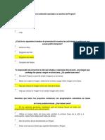 1. Examen Project Introducción