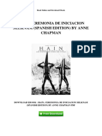 Hain Ceremonia de Iniciacion Selknam Spanish Edition by Anne Chapman