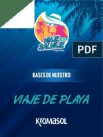 Bases de Playa 2018