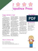 newsletter 5-11-18