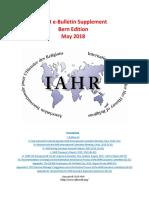 IAHR E-Bull Suppl May 2018
