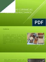 Estructuras Cerámicas, Vidrios, Refractarios
