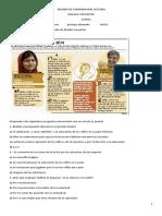 Malala Prueba de Comprensión Lectora