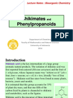 5 Lecture Notes Shikimates Phenyl Prop 2014 Student Edition