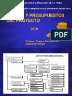 Costos y Presupuestos 2018-1