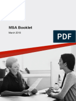 MSA Booklet - March 2018