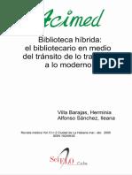 Biblioteca Hibrida_ El Bibliote - Villa Barajas, Herminia; Alfons