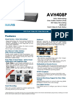 AVH408P Spec