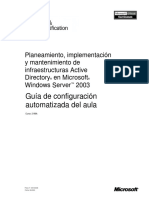 Planeamiento e Implementacion Active Directory