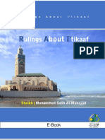 Rulings About Itikaaf