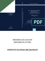 III Congreso Nacional Belgraniano