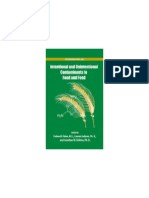 [ACS Symposium Volume 1020] Fadwa Al-Taher, Lauren Jackson, And Jonathan W. DeVries (Eds.) - Intentional and Unintentional Contaminants in Food and Feed (2009, American Chemical Society)