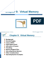 Virtual Memory Management-Operating Systems
