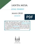 Misal Mayo 2018 Jm