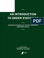 (Atlantis Studies in Probability and Statistics 3) Mohammad Ahsanullah, Valery B Nevzorov, Mohammad Shakil (Auth.)-An Introduction to Order Statistics-Atlantis Press (2013)