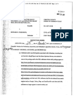 Signature Group v. Richard S. Friedberg - Injunction Order