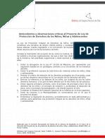 Proyecto de Ley de Proteccion de Derechos NNA_v5