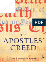 Piotr Ashwin-Siejkowski - Apostles' Creed_ and Its Early Christian Context (2009, T&T Clark Int'l)