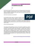 CALENDARIO CÍVICO ESCOLAR -  5° DICIEMBRE