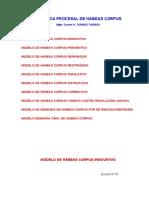 Practica Procesal de Habeas Corpus