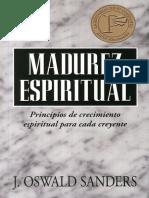 035 - J. Oswald Sanders Madurez Espiritual