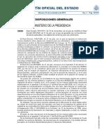 Real Decreto 1631 de 2011