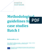 112 TRANSIT D4.1 Methodological Guidelines Batch I