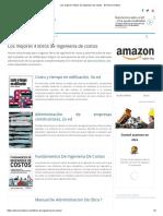 Los Mejores 4 Libros de Ingeniería de Costos - El Precio Unitario