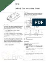 3102062-En R01 SIGA-MFT Map Fault Tool Installation Sheet