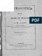 03. Maestro. Liturgia de Ragon