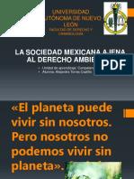La Sociedad Mexicana Ajena Al Derecho Ambiental 2
