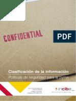 Clasificacion Informacion