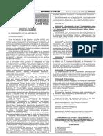DS 004-2018-MINEDU Lineamientos Para La Gestión de La Convivencia Escolar, La Prevención y La Atención de La Violencia Contra Niñas, Niños y Adolescentes
