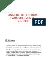 Energia Para Volumen de Control