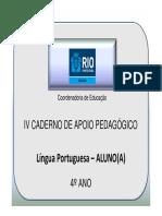 4AnoLPAluno4Caderno