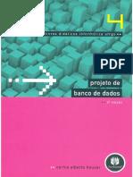 CAPA Projeto de Banco de Dados - Carlos Heuser - 6ª Edição