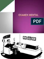 Ppt Examen Mental