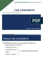 01. Definições fundamentais, Consumo de cimento, Traços e correções.pdf