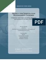 Models for Immigration Management Schemes