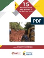 Proyecto TIPO Vias terciarias DNP v3